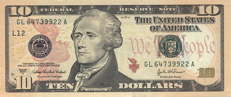 10 dollar american us bill alexander hamilton This Day In History   January 11th