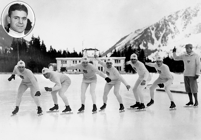 1924 american skaters jewtraw winter olympics chamonix first gold medal This Day In History   January 25th
