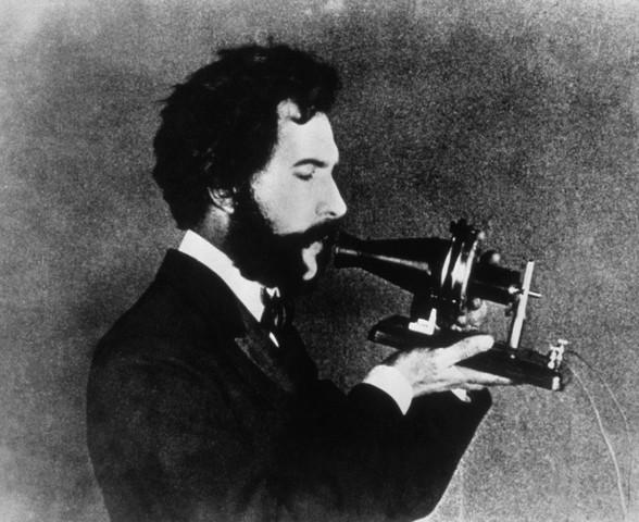 alexander graham bell making a telephone call This Day In History   January 25th