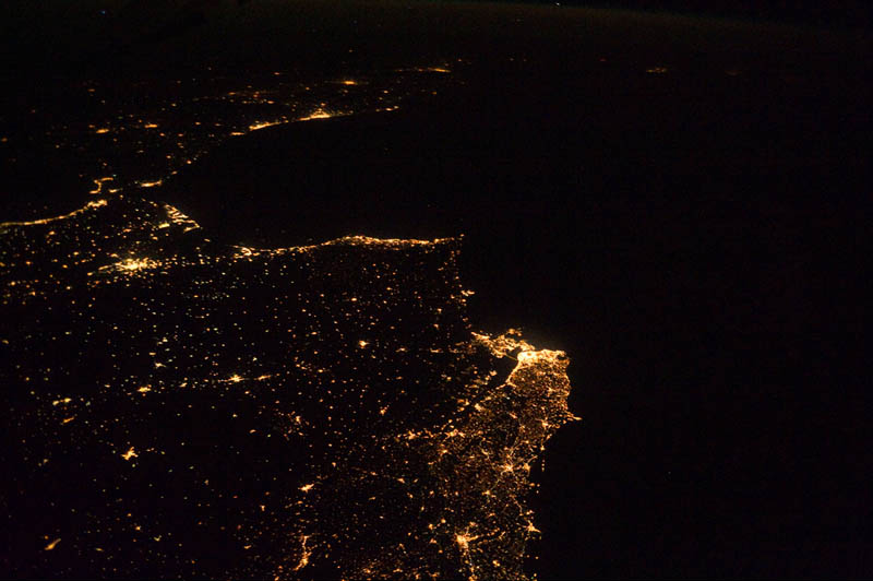 atlantic coast of europe into africa at night from space Earth at Night: 30 Photos from Space