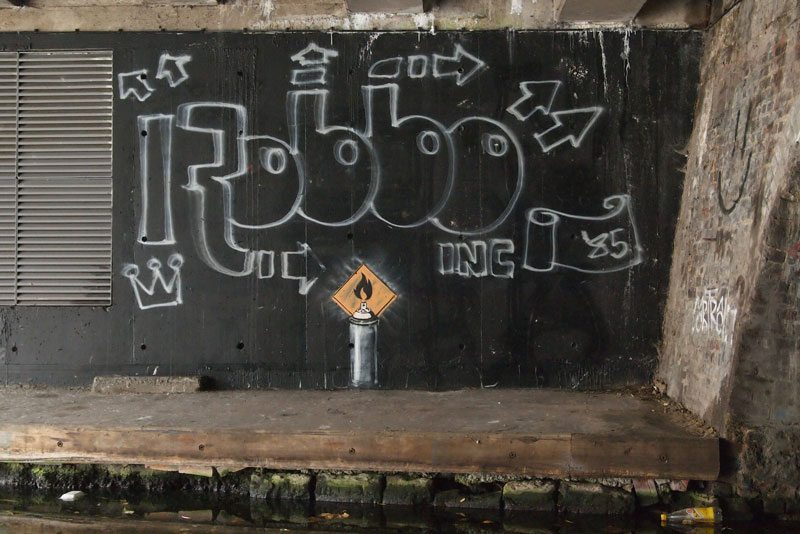 banksy robbo war london camden history 12 The Banksy vs Robbo War in Pictures