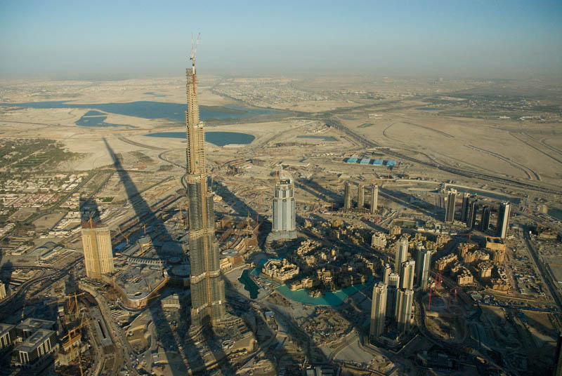burj khalifa under construction This Day In History   January 4th