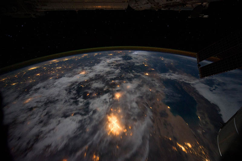 california mexicos baja california and the gulf of cortez at night from space nasa Earth at Night: 30 Photos from Space