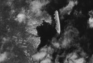 Picture of the Day: Capsized Cruise Ship Costa Concordia from Space