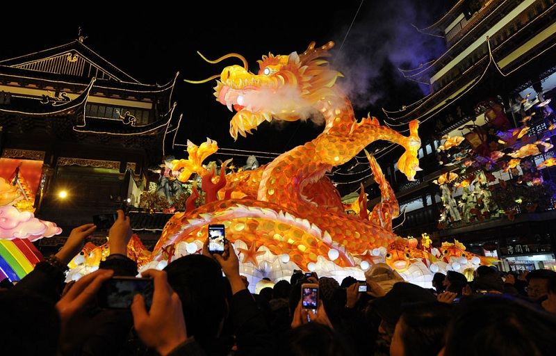 chinese new year 2012 year of the dragon Picture of the Day: The Year of the Dragon
