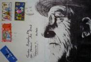 Amazing Envelope Art with a Ballpoint Pen