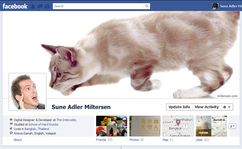 funny creative facebook timeline cover 24 25 Funny and Creative Facebook Timeline Covers