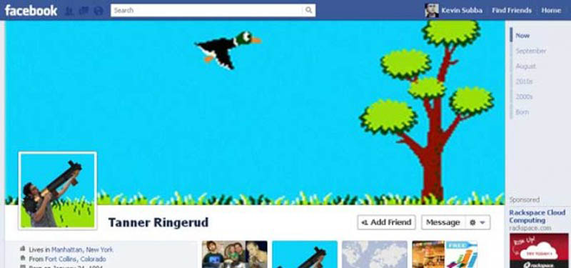 funny creative facebook timeline cover 3 25 Funny and Creative Facebook Timeline Covers
