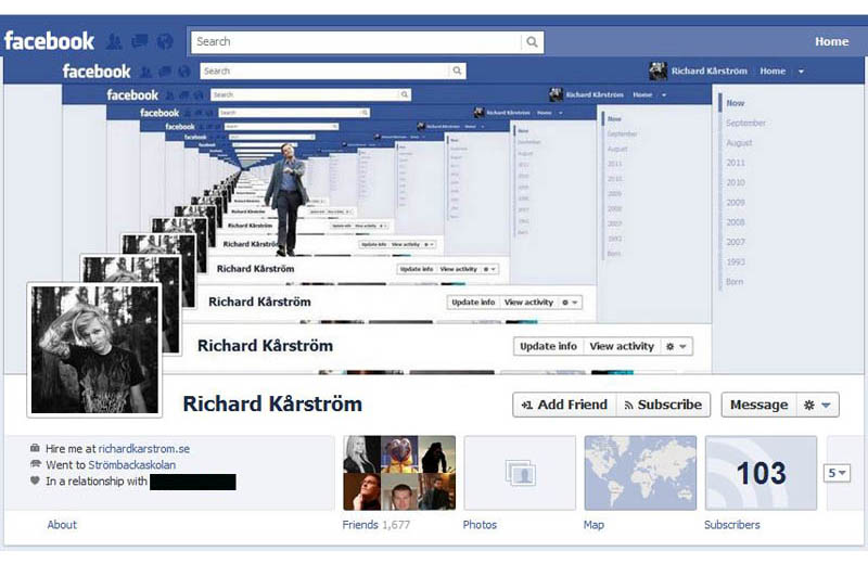 funny creative facebook timeline cover 7 50 Creative Ways to Repurpose, Reuse and Upcycle Old Things