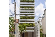 Green Home in Ho Chi Minh has Living Walls