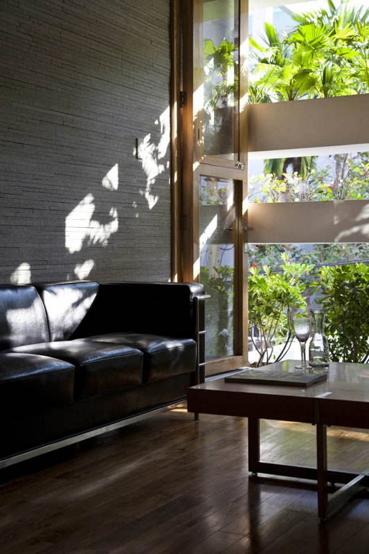 green house with planters for walls ho chi minh trang chu 6 Green Home in Ho Chi Minh has Living Walls