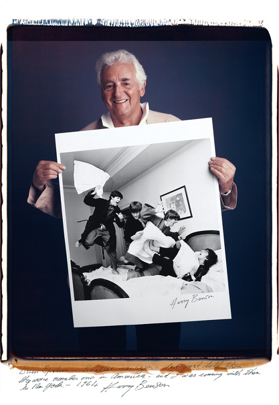 harry benson photo of the beatles pillow fight copy Portraits of Iconic Photos and the Photographers that took them