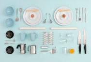 IKEA Kitchen Table Art by Carl Kleiner