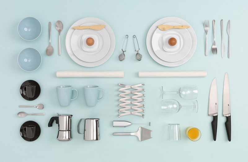 IKEA Kitchen Table Art by Carl Kleiner