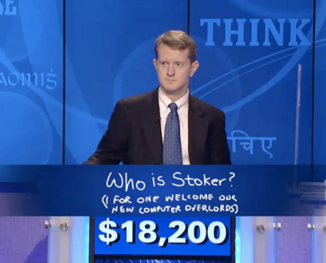 ken jennings i for one welcome our new computer overlords 12 Awesome Moments in Jeopardy History