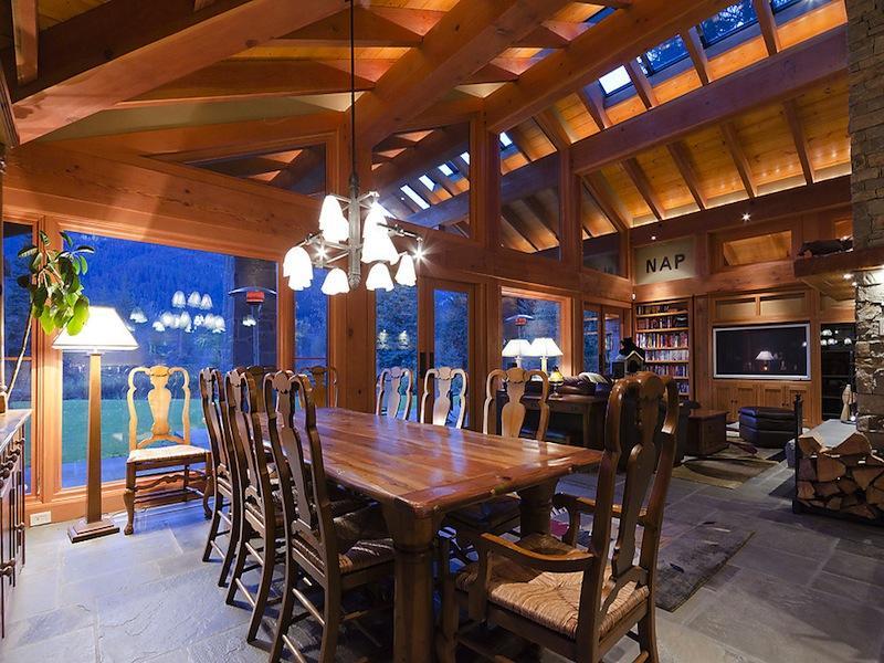 luxury whistler skil chalet crabapple drive 14 $15M Luxury Ski Chalet in Whistler, Canada