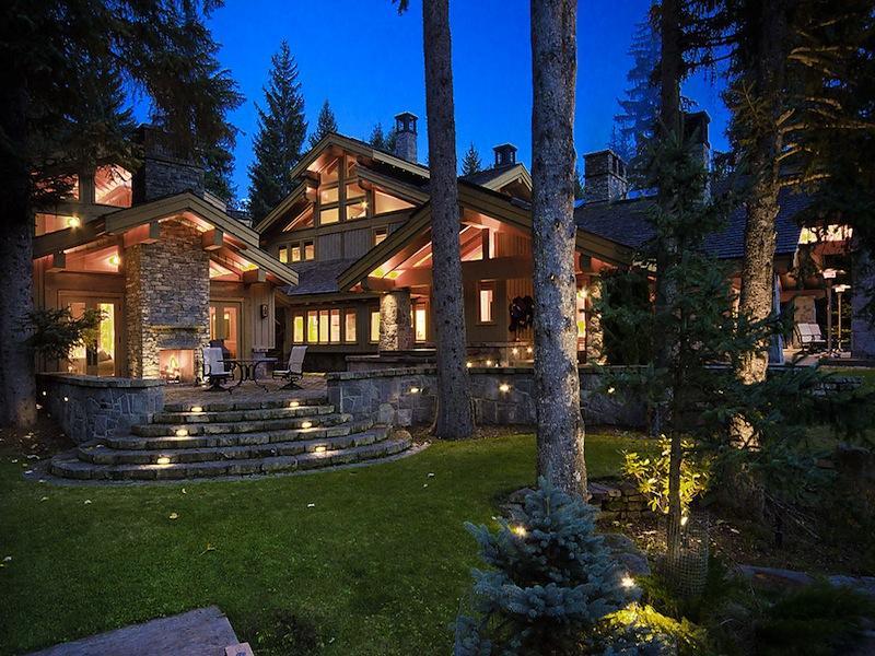 luxury whistler skil chalet crabapple drive 32 $15M Luxury Ski Chalet in Whistler, Canada