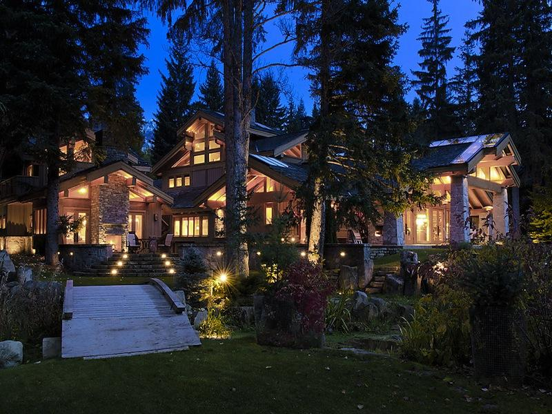$15M Luxury Ski Chalet in Whistler, Canada
