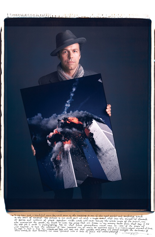 lyle owerko sept 11 attacks photo copy Portraits of Iconic Photos and the Photographers that took them
