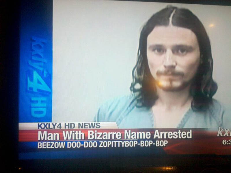 man with bizarre name arrested The Shirk Report   Volume 144