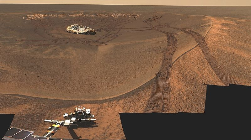 mars rover opportunity cratera eagle This Day In History   January 25th
