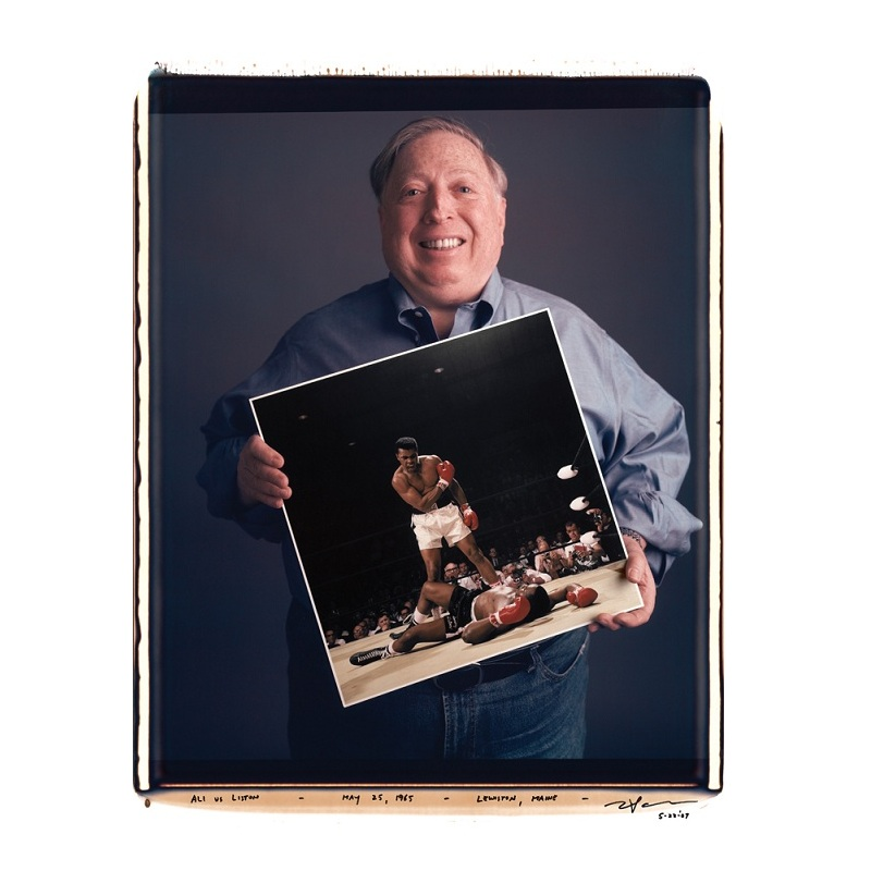 neil leifer ali liston picture Portraits of Iconic Photos and the Photographers that took them