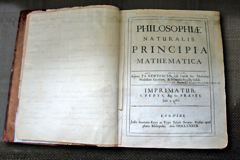 newtons principia mathematica original book This Day In History   January 4th
