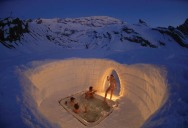 Picture of the Day: Outdoor Jacuzzi on the Matterhorn