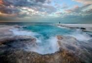 Picture of the Day: Godzilla's Footprint – Palmachim Beach, Israel