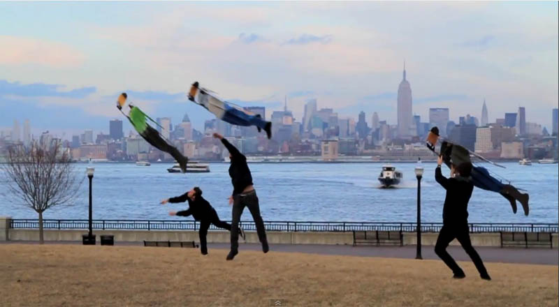 people flying in new york city the chronical movie pr stunt 2 Clever PR Stunt Creates Illusion of People Flying in New York City