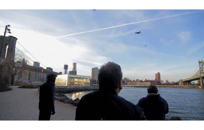 people flying in new york city the chronical movie pr stunt 4 Clever PR Stunt Creates Illusion of People Flying in New York City