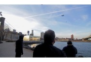 Clever PR Stunt Creates Illusion of People Flying in New York City
