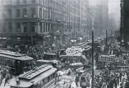 Picture of the Day: Chicago Rush Hour, 1909