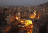 Picture of the Day: The Old City of Sana'a at Night