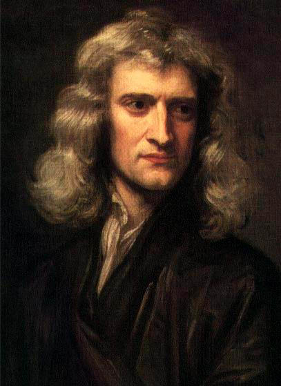 sir isaac newton portrait This Day In History   January 4th
