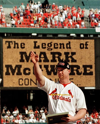steroids mcgwire This Day In History   January 11th
