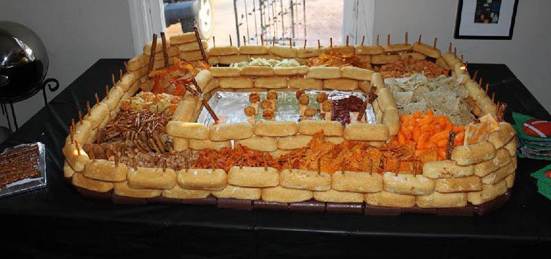 superbowl snack stadiums 14 The Best Super Bowl Snack Stadiums Ever