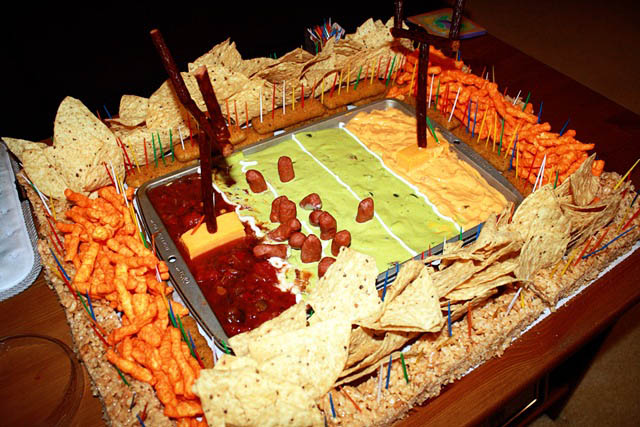 superbowl snack stadiums 25 The Best Super Bowl Snack Stadiums Ever