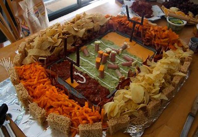 superbowl snack stadiums 9 The Best Super Bowl Snack Stadiums Ever