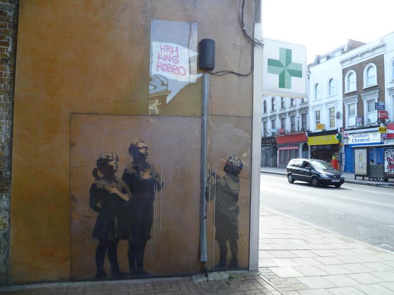 team robbo The Banksy vs Robbo War in Pictures