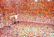 Kids Turn White Room into Explosion of Color