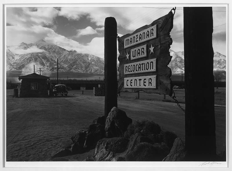 ansel adams life on japanese internment camps wwii manzanar 1 Ansel Adams Captures Life on a Japanese Internment Camp