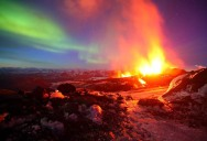 Picture of the Day: A Tale of Two Eruptions