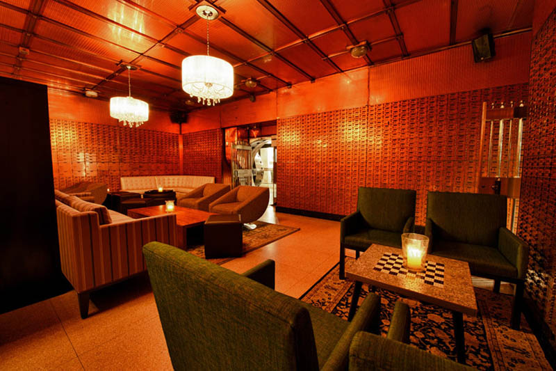 chicago supper club restaurant reclaims bank with vault the bedford 5 Chicago Supper Club Reclaims 1920s Bank with VIP Vault Room