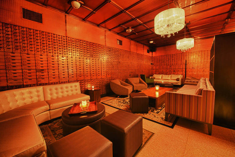 chicago supper club restaurant reclaims bank with vault the bedford 6 Chicago Supper Club Reclaims 1920s Bank with VIP Vault Room