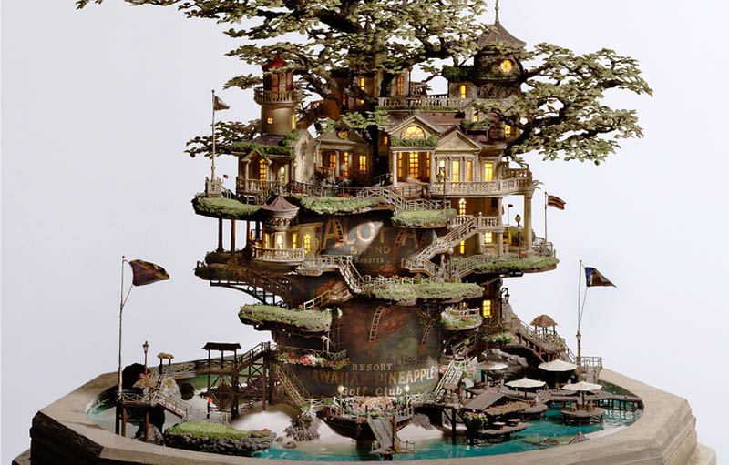 Amazing Miniature Sculptures by Takanori Aiba