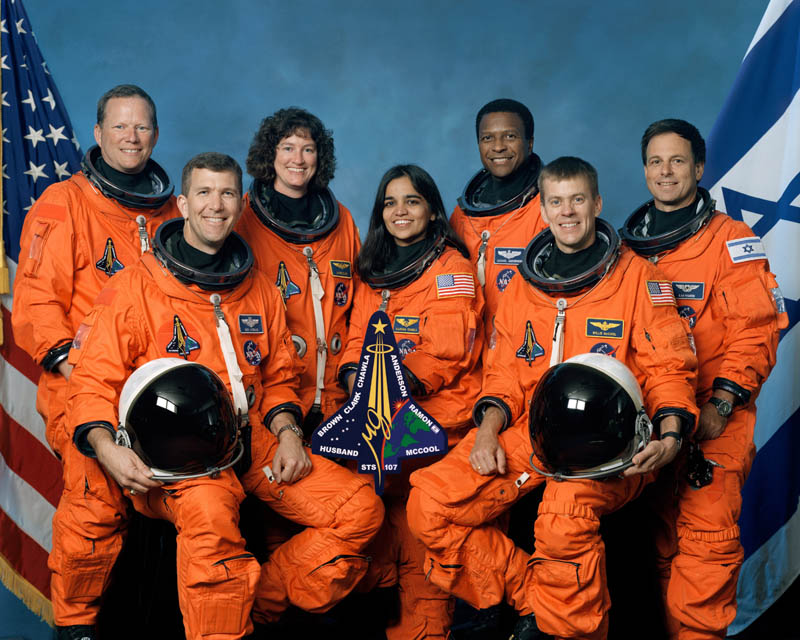 crew of sts 107 columbia disaster This Day In History   February 1st