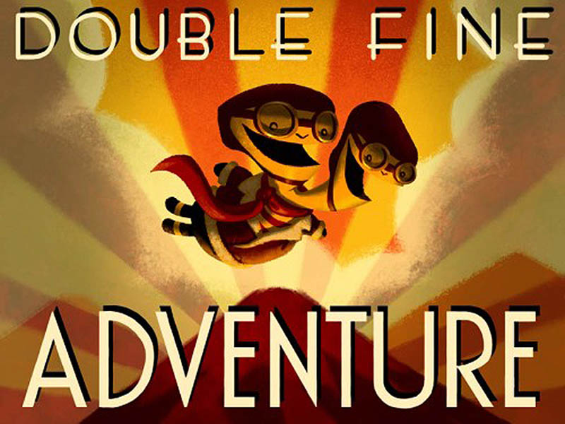 double fine adventure game kickstarter record Adventure Game Shatters Kickstarter Record, Raises a Million Dollars in a Day