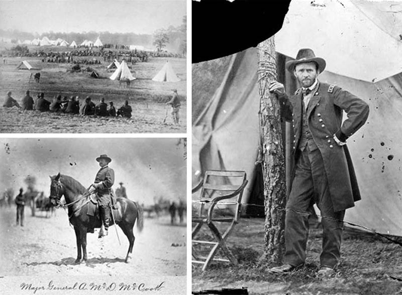 general ulsses s grant on horst doctored photosopped 12 Historic Photographs That Were Manipulated