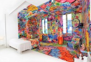 The Half-White, Half-Graf Hotel Room in France